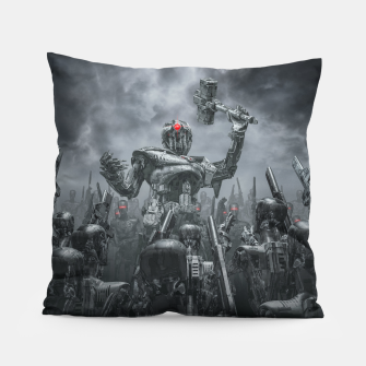 Thumbnail image of Once More Unto The Breach Pillow, Live Heroes