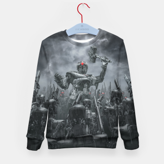 Thumbnail image of Once More Unto The Breach Kid's sweater, Live Heroes