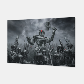 Thumbnail image of Once More Unto The Breach Canvas, Live Heroes