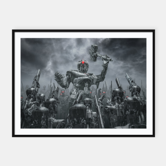 Thumbnail image of Once More Unto The Breach Framed poster, Live Heroes