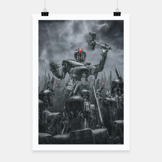 Thumbnail image of Once More Unto The Breach Poster, Live Heroes