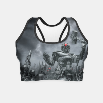 Thumbnail image of Once More Unto The Breach Crop Top, Live Heroes