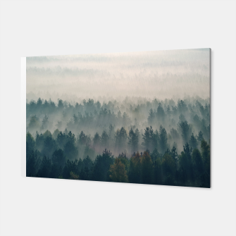 Foggy morning Canvas thumbnail image