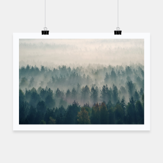 Thumbnail image of Foggy morning Plakat, Live Heroes
