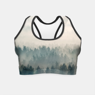 Foggy morning Crop Top imagen en miniatura