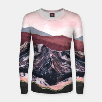 Thumbnail image of Wine Hills Woman cotton sweater, Live Heroes
