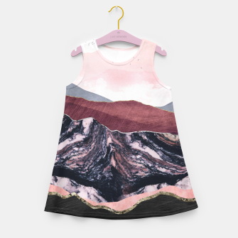 Thumbnail image of Wine Hills Girl's summer dress, Live Heroes