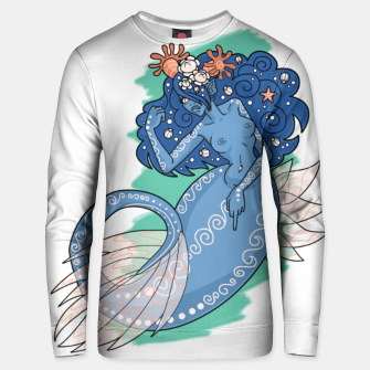 Thumbnail image of Mermaid Grabs Back - Cotton sweater, Live Heroes