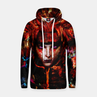 Thumbnail image of pain Cotton hoodie, Live Heroes