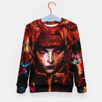 Thumbnail image of pain Kid's sweater, Live Heroes