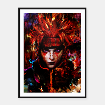 Thumbnail image of pain Framed poster, Live Heroes