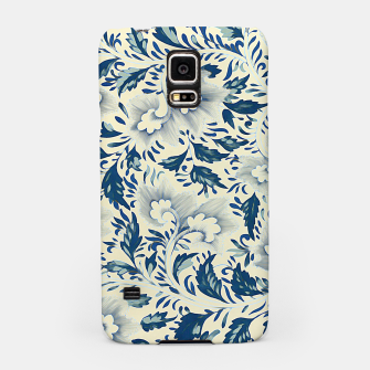 Thumbnail image of Blue white Chinese floral motifs Samsung Case, Live Heroes