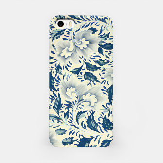 Thumbnail image of Blue white Chinese floral motifs iPhone Case, Live Heroes