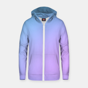 Thumbnail image of Mauve Cotton zip up hoodie, Live Heroes