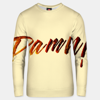 Thumbnail image of Damn Cotton sweater, Live Heroes