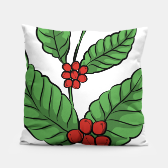 Thumbnail image of Coffee Plant Pillow, Live Heroes