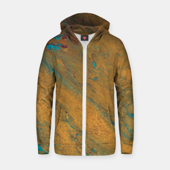 Thumbnail image of All That Glitters Cotton zip up hoodie, Live Heroes