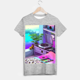 Thumbnail image of vaporwave aesthetic T-shirt regular, Live Heroes