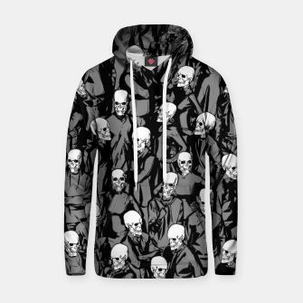 Thumbnail image of Skull Society Cotton hoodie, Live Heroes