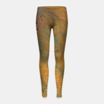 Thumbnail image of All That Glitters Girl's leggings, Live Heroes