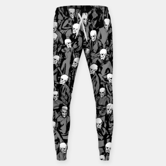Thumbnail image of Skull Society Cotton sweatpants, Live Heroes