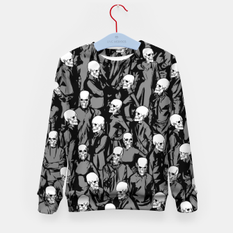 Thumbnail image of Skull Society Kid's sweater, Live Heroes