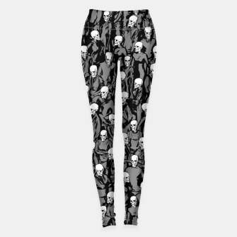 Thumbnail image of Skull Society Leggings, Live Heroes