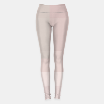 Thumbnail image of Pale Dusty Rose and Greys Leggings, Live Heroes