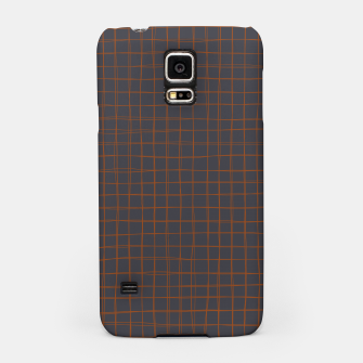 Thumbnail image of Grey and Rust Thread Pattern  Samsung Case, Live Heroes
