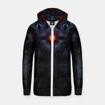 Thumbnail image of Gate Of Tritilirian Cotton zip up hoodie, Live Heroes
