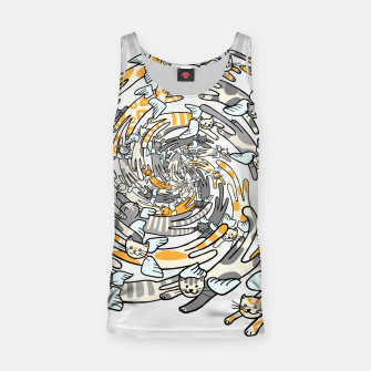 Miniatur Flying cats Tank Top, Live Heroes