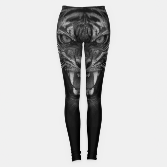 Thumbnail image of Heart of a Tiger Leggings, Live Heroes