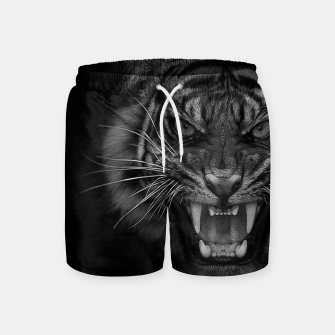 Thumbnail image of Heart of a Tiger Swim Shorts, Live Heroes