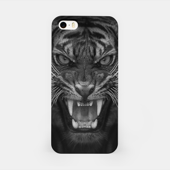 Thumbnail image of Heart of a Tiger iPhone Case, Live Heroes