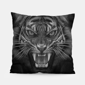 Thumbnail image of Heart of a Tiger Pillow, Live Heroes