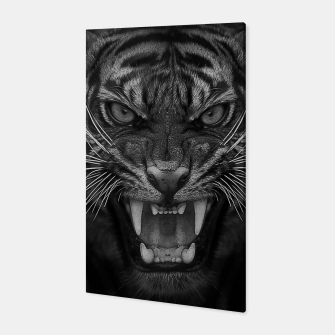 Thumbnail image of Heart of a Tiger Canvas, Live Heroes