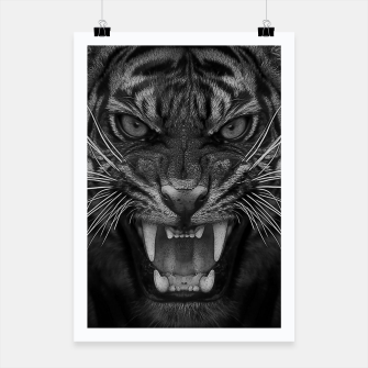Thumbnail image of Heart of a Tiger Poster, Live Heroes