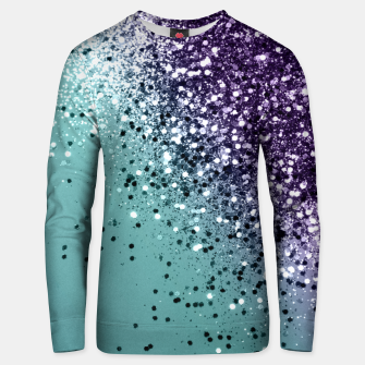 Thumbnail image of Mermaid Glitter Dream #1 #shiny #decor #art  Baumwoll sweatshirt, Live Heroes