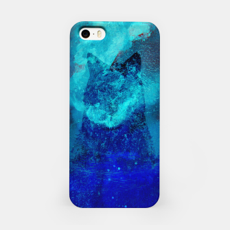 Thumbnail image of Wolf In Galactic Universe Bash In Pine Trees iPhone Case, Live Heroes