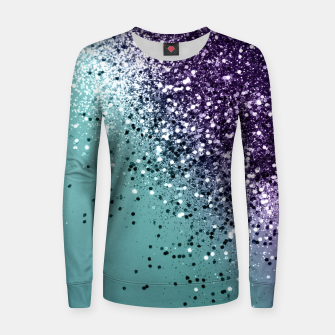 Mermaid Glitter Dream #1 #shiny #decor #art  Frauen baumwoll sweatshirt miniature
