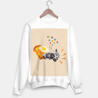 Don't Forget Breakfast! Sweater regular Bild der Miniatur