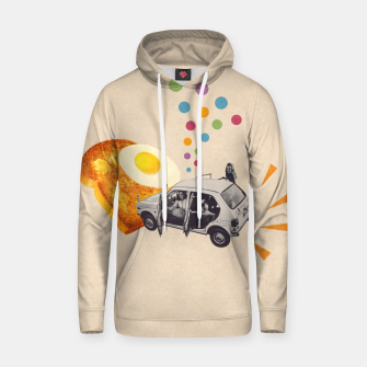 Don't Forget Breakfast! Cotton hoodie Bild der Miniatur