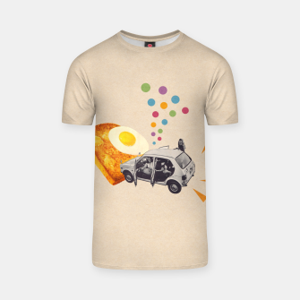 Thumbnail image of Don't Forget Breakfast! T-shirt, Live Heroes