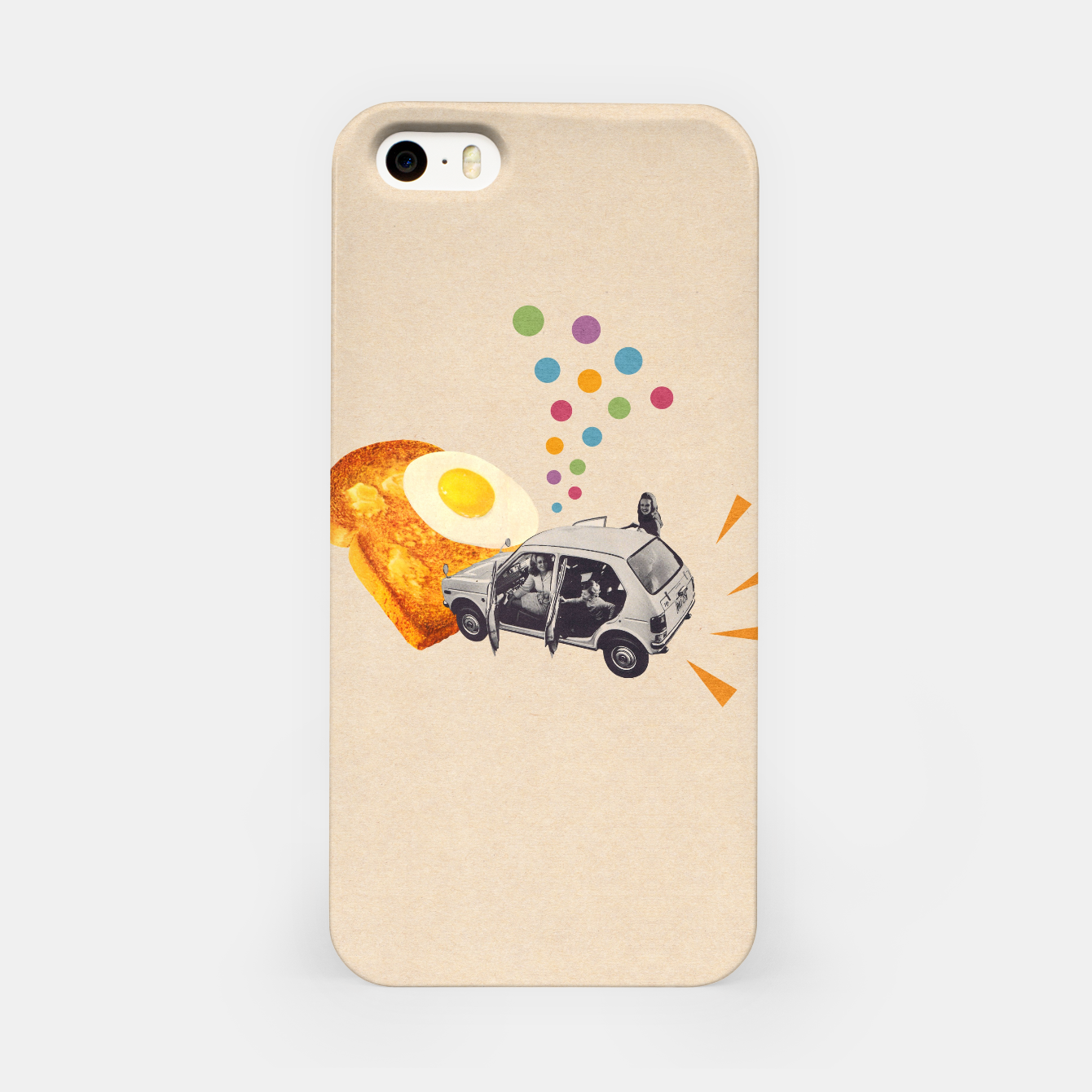 Foto Don't Forget Breakfast! iPhone Case - Live Heroes