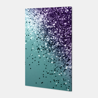Mermaid Glitter Dream #1 #shiny #decor #art  Canvas miniature