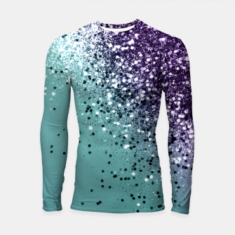 Mermaid Glitter Dream #1 #shiny #decor #art  Longsleeve rashguard miniature
