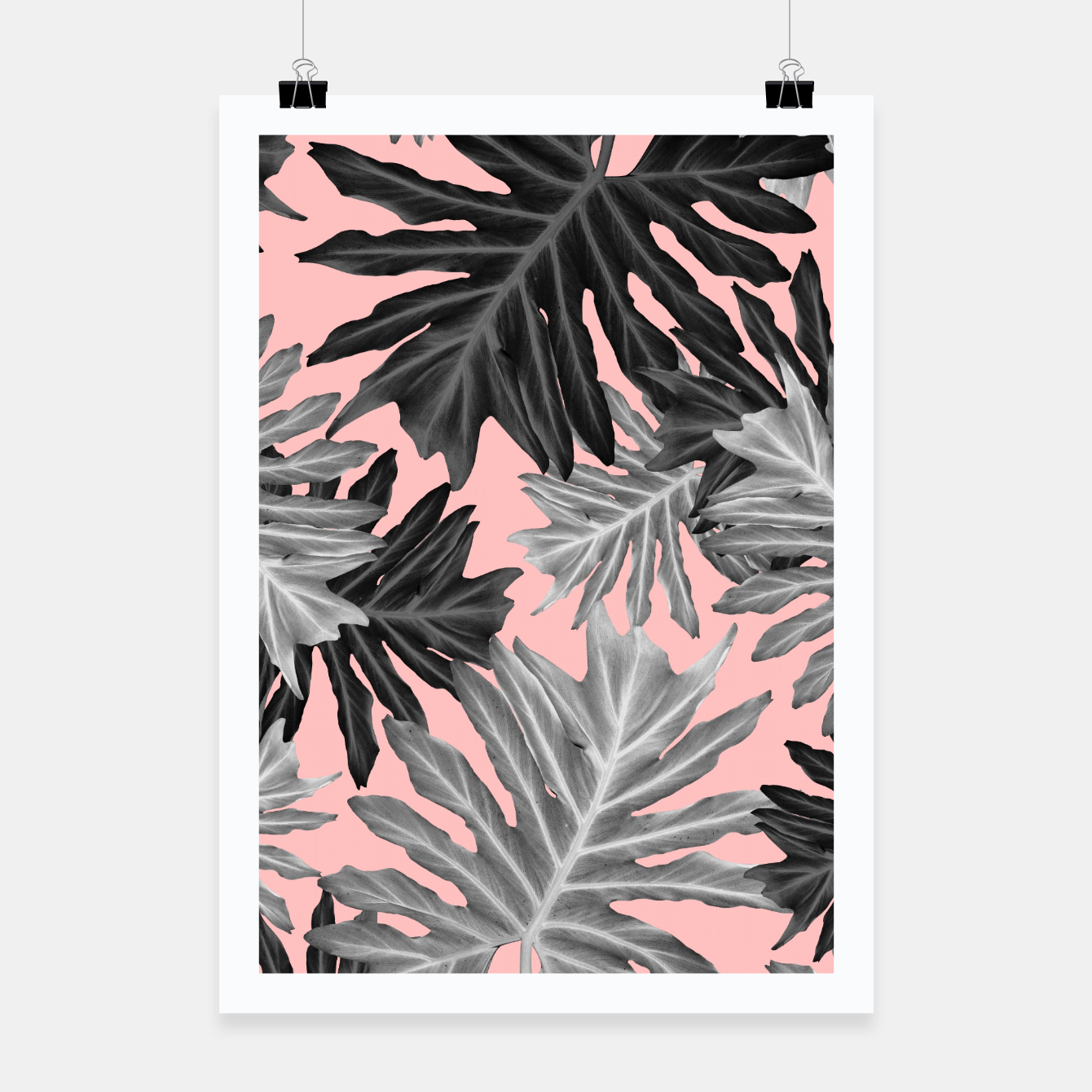 philo hope tropical jungle leaves pattern 3 tropical decor art