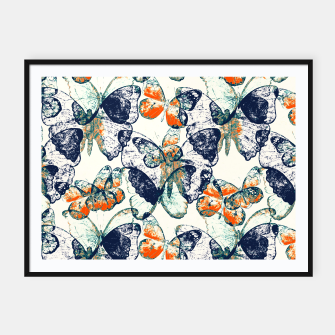 Thumbnail image of Butterfly,blue and red,animal,insect, Affiche et cadre, Live Heroes