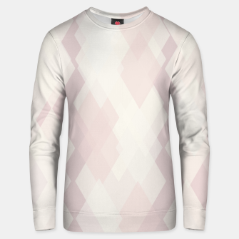 Thumbnail image of Confused Argyle in soft colors Cotton sweater, Live Heroes