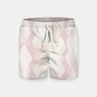 Thumbnail image of Confused Argyle in soft colors Swim Shorts, Live Heroes